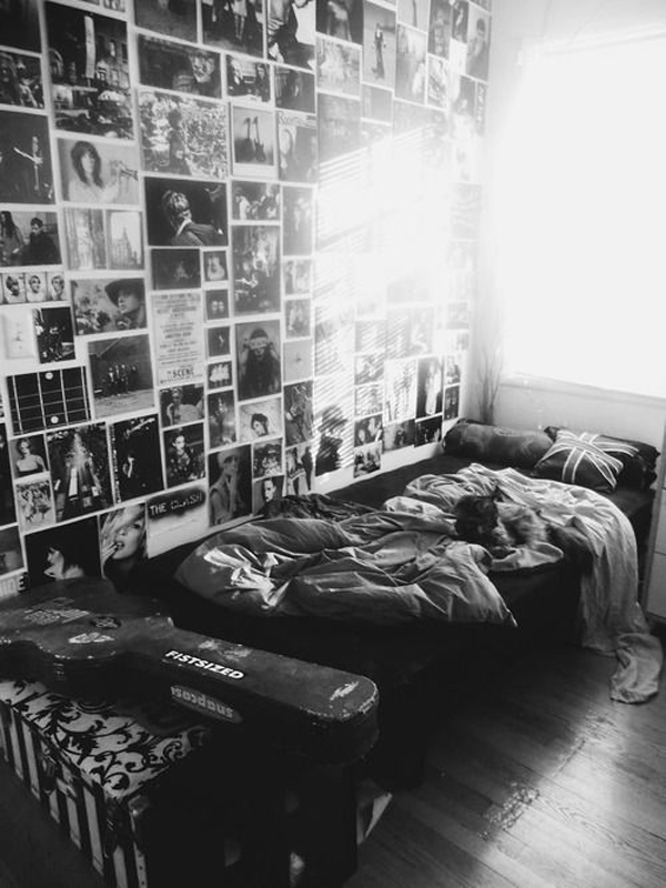 Grunge Bedroom New Blackandwhitegrungebedroomdecoration Decorating Design