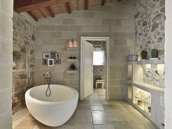 Cozy stone bathroom designs - Natural stone bathroom designs ideas ...