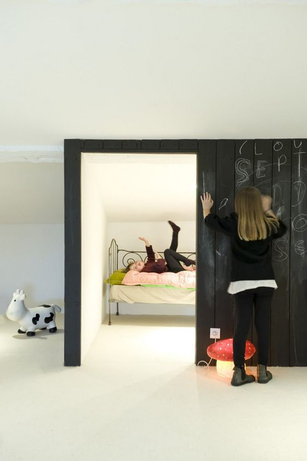30 Education Kids Playroom With Chalkboard Ideas Home