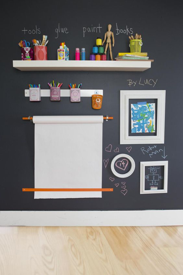 30 Education Kids Playroom With Chalkboard Ideas Home Design And