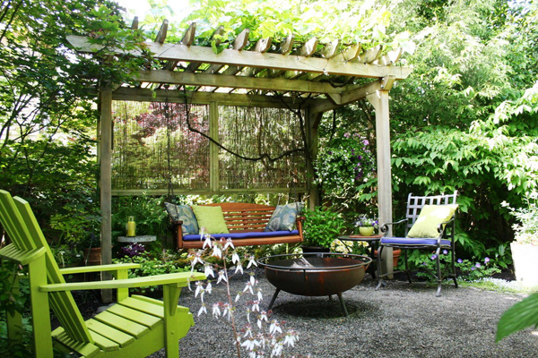 grape arbor backyard ideas