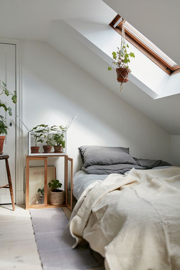 10 beautiful loft bedrooms with natural accents home Nature bedroom