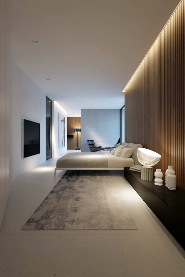 20 Modern And Creative Bedroom Design Featuring Wooden ...