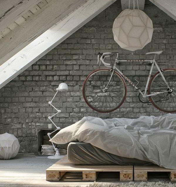 Modern diy beds pallet board for Modern home decor diy
