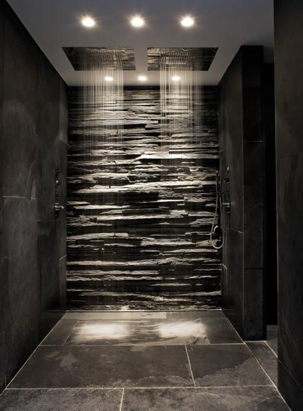 25 Awesome Natural Stone Bathrooms | Home Design And Interior