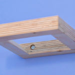 plywood bookshelf design