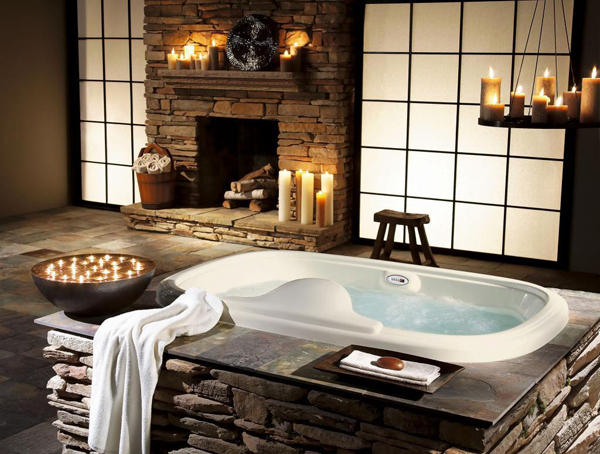 Gallery Of 25 Awesome Natural Stone Bathrooms Part 46