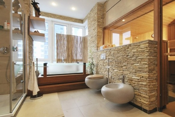 Here Are The Different Natural Stone Ideas That You Can Choose To Your Bathroom  Design.