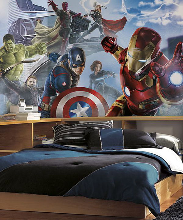 10 best marvel avengers wall decor ideas home design and interior