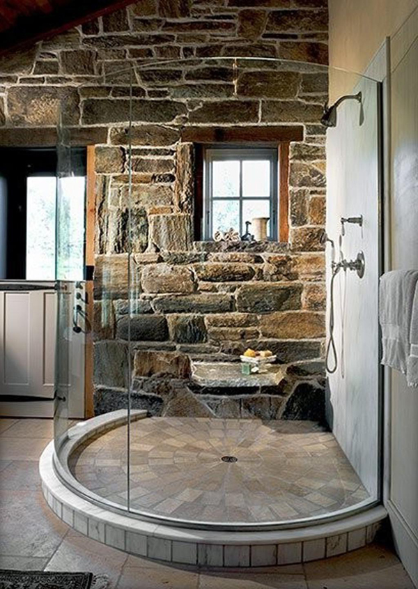 Traditional Stone Bathroom Designs