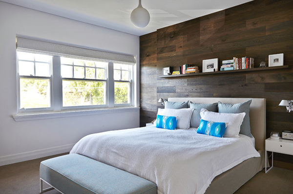 wood-paneling-bedroom-storage-wall | Home Design And Interior