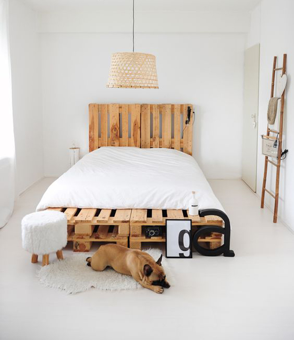 wooden bed frames decor