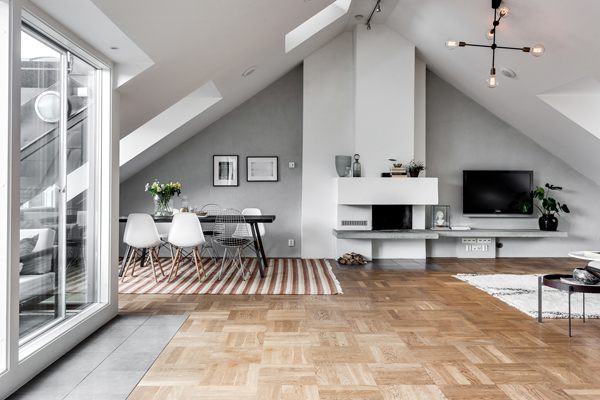 If you are in Stockholm you should probably this apartment design is that  you are looking for!