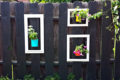 beautiful-fence-garden-picture-frames