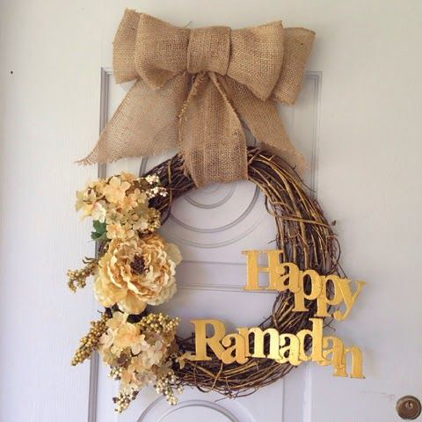 Diy Ramadan Wreath Decoration Home Design And Interior