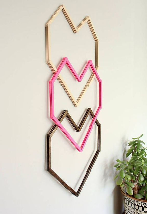 & geometric-heart-DIY-wall-art-with-popsicle-sticks