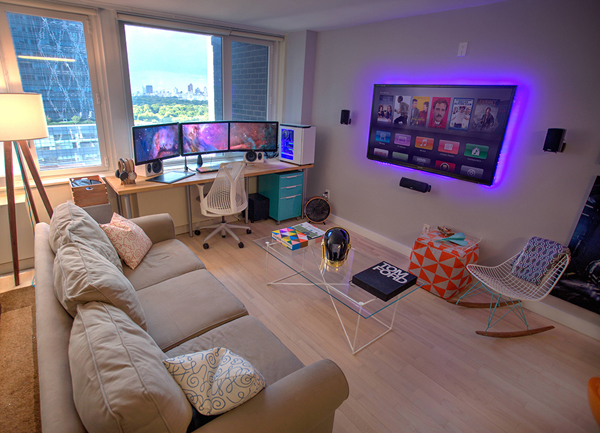 but to you who are still experiencing difficulty then in this article I  have collected over 25 video gaming room ideas that you can try at home. 25 Incredible Video Gaming Room Designs   Home Design And Interior