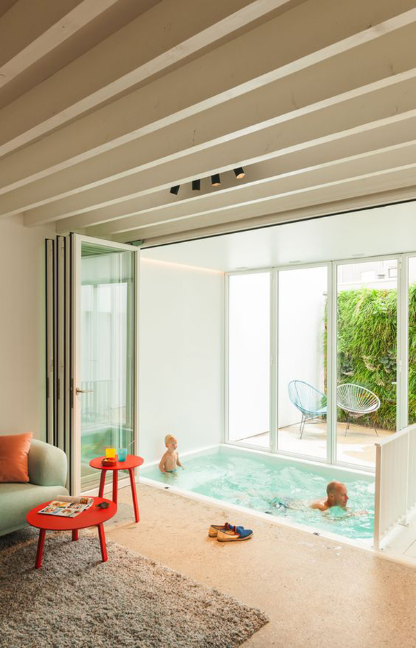Indoor plunge pools for Building an indoor pool at home
