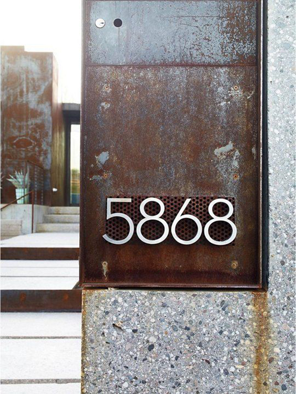 industrial house number designs - Industrial House 2016