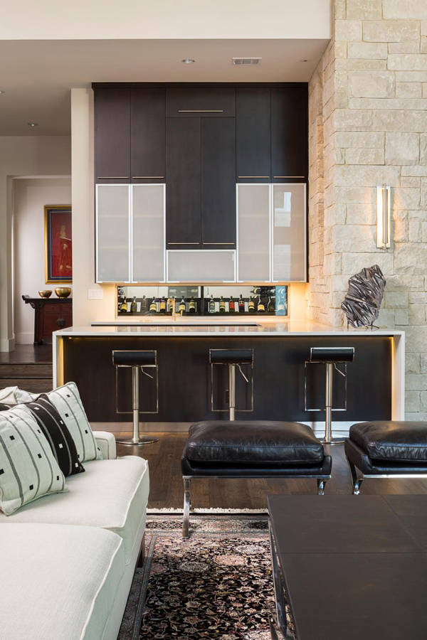Modern Basement Bar Decor Ideas