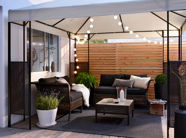 Modern ikea balcony furniture for Modern day furniture