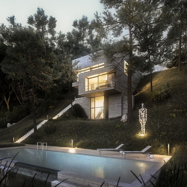 Modern House Design In Nature Home Design And Interior