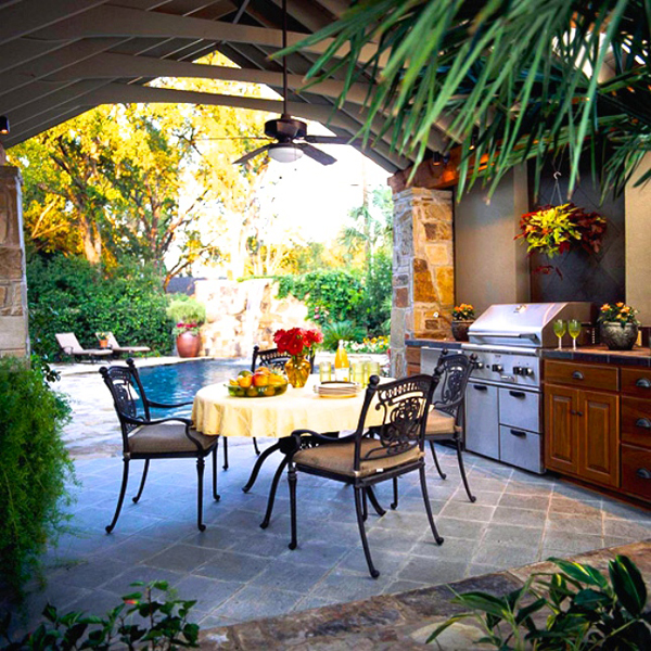 100 Outdoor Kitchen Design Ideas Photos Features: 35 Most Awesome Outdoor Kitchens For Summer