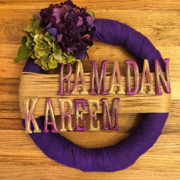 Ramadan Kareem Wreath Decor Ideas Home Design And Interior