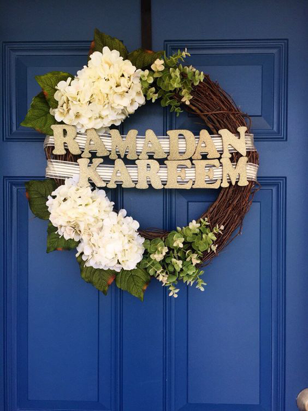 Best Christmas Classroom Decorations ~ Awesome wreath doors for eid and ramadan home design