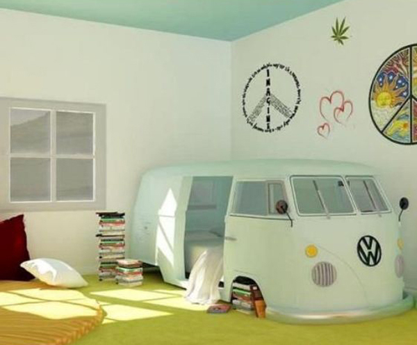 17 Creative And Delightful Vehicle Beds For Kids Dreams