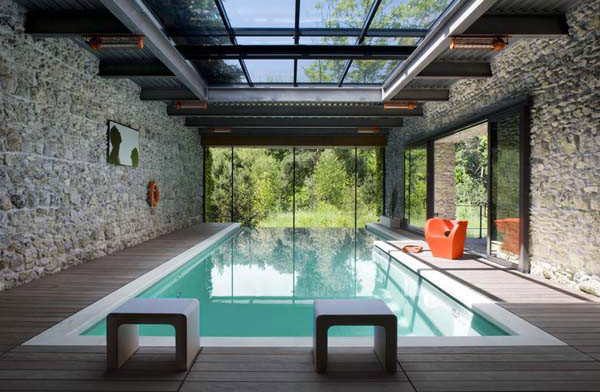 25 Stunning Indoor Pools To Make You Relax