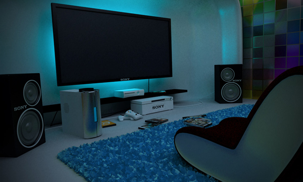 Gaming Room Ideas Inspiration 25 Incredible Video Gaming Room Designs  Home Design And Interior Decorating Design