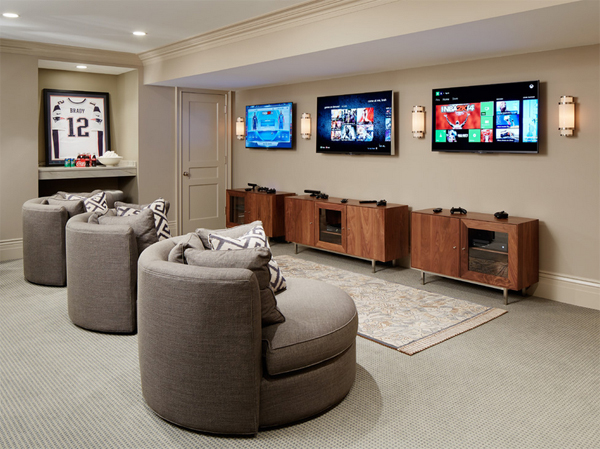 video gaming room furniture. 25 incredible video gaming room designs furniture