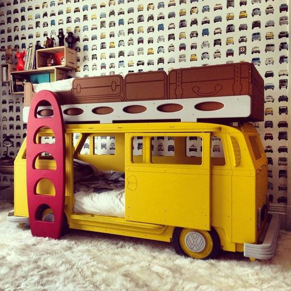 gallery of 17 creative and delightful vehicle beds for kids dreams