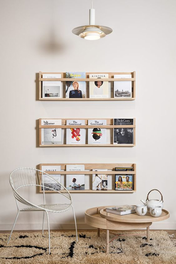 15 Genius Diy Magazine Rack Ideas Home Design And Interior