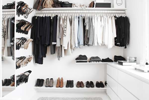 Beautiful Walk-In Closet With Low Budget   Home Design And Interior