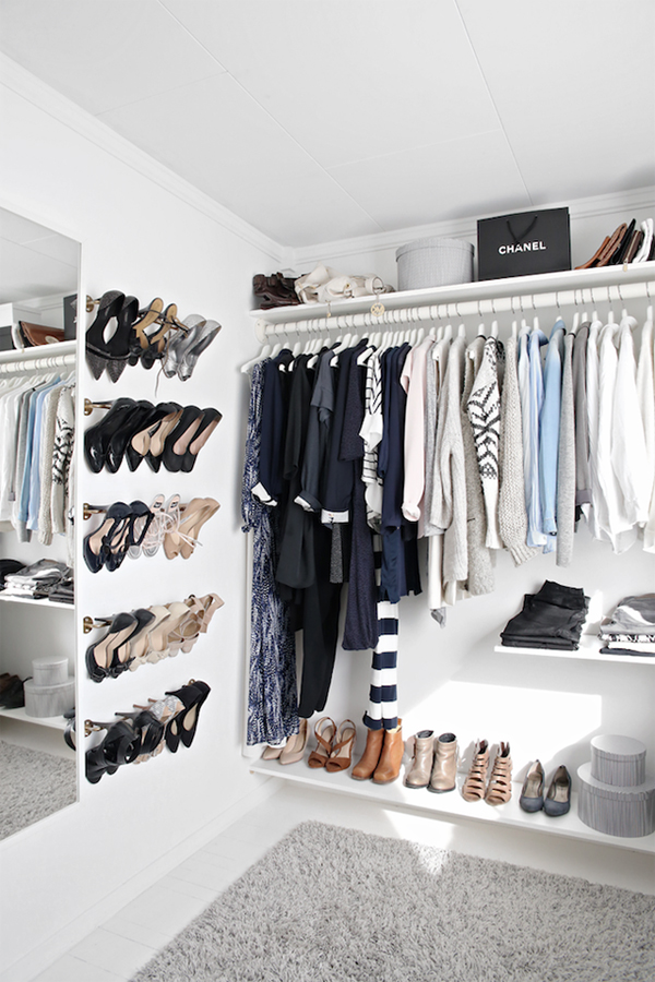 Beautiful Closet beautiful walk-in closet with low budget   home design and interior