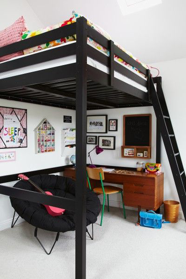 20 ikea stuva loft beds for your kids rooms home design for Space saver beds ikea