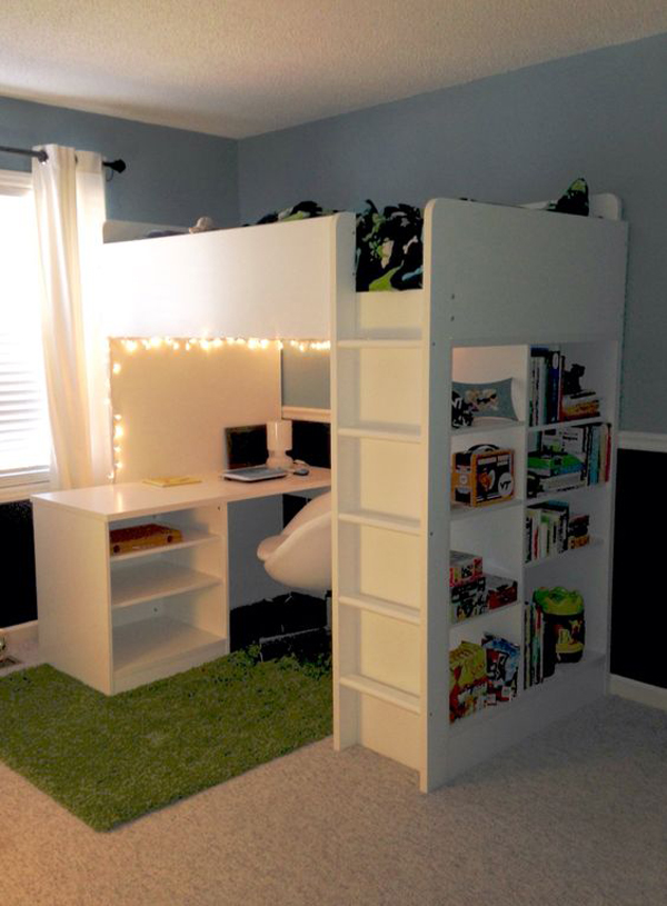 20 ikea stuva loft beds for your kids rooms home design and interior. Black Bedroom Furniture Sets. Home Design Ideas