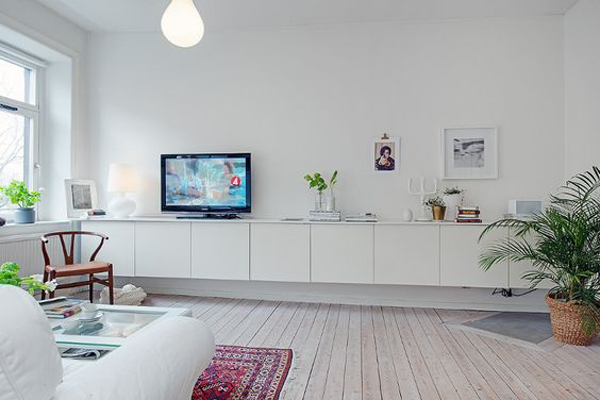 Cool ikea besta tv storage wall - Ikea muebles salon tv ...