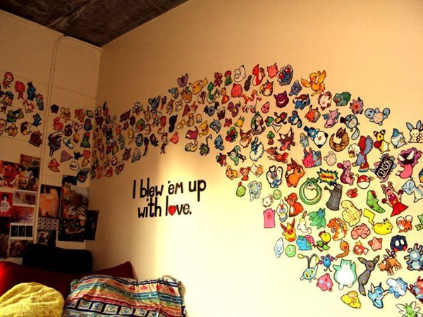 cool pokemon wall stickers. Black Bedroom Furniture Sets. Home Design Ideas