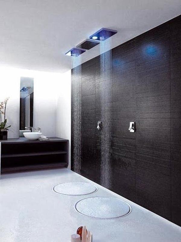 22 Modern Rain Shower Ideas For Refresh Your Body ...