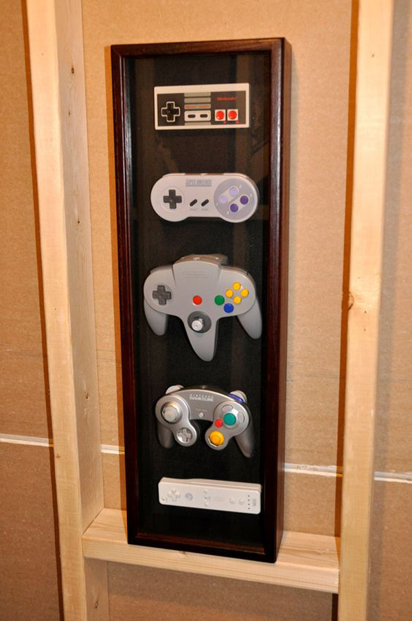 15 Cool Ways To Video Game Controller Storage Home