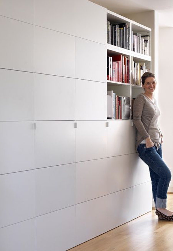 Floor Ikea Besta Storage Cabinet
