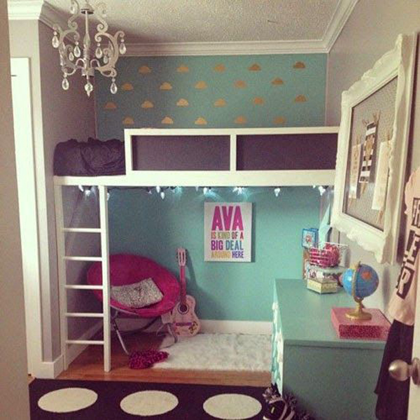 Small Bedroom Bunk Bed Ideas: 20 IKEA Stuva Loft Beds For Your Kids Rooms