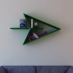 Gallery Of Modern Bookshelf With Superhero Theme