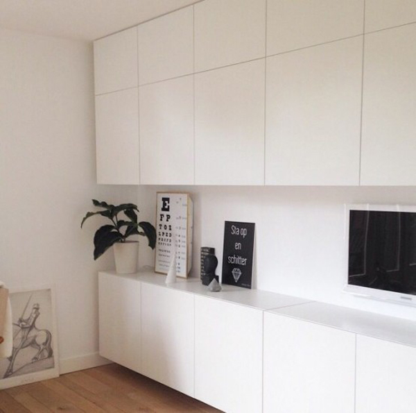 35 tidy and stylish ikea besta units home design and - Besta wohnzimmer ...