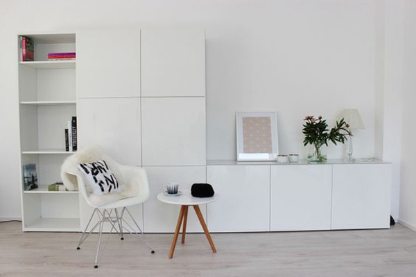 Ikea Besta Unit Storage Ideas