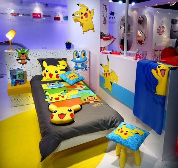 10 cute and adorable ways to diy pokemon home design and for Childrens themed bedroom ideas