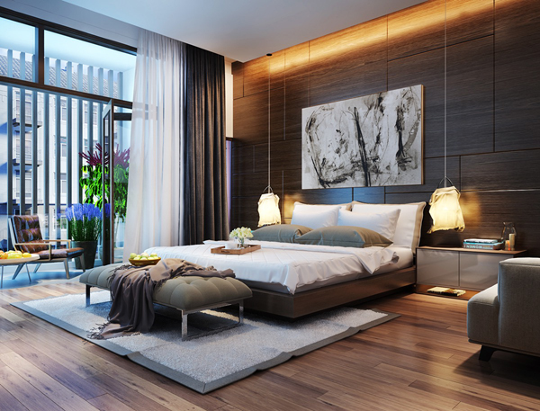 . 20 Modern And Artistic Bedroom Lights   Home Design And Interior